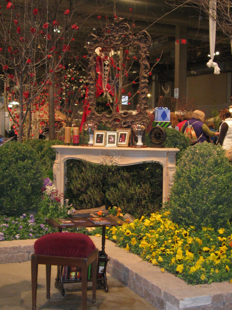 Photo essay of chicago flower and garden show 2010 snarkyvegan for Chicago flower and garden show