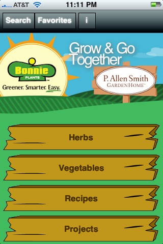P. Allen Smith's iPhone App