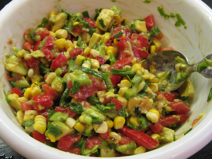 Recipe: Avocado and Veggie Relish | SnarkyVegan