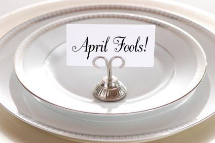 April Fools!! Don't really eat those twigs. YUK!!